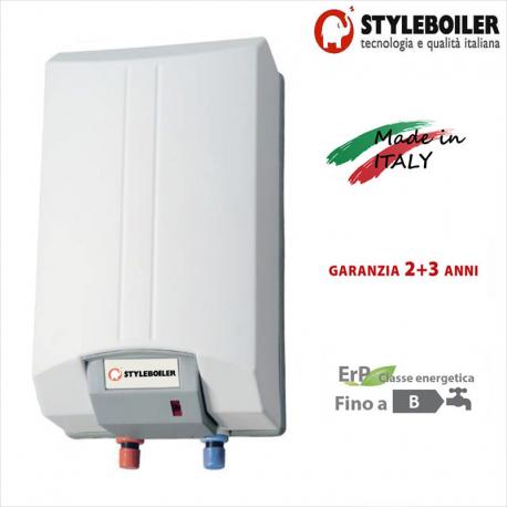 Scaldabagno elettrico rapido styleboiler serie pony 30 - Scaldabagno elettrico prezzi 80 litri ...