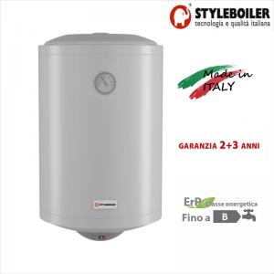 Scaldabagno Elettrico Accumulo Styleboiler Serie Vf 50 Litri Con 5 Anni Di Garanzia