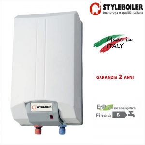 Scaldabagno Elettrico Rapido Styleboiler Serie Pony 10 Litri Con 2 Anni Di Garanzia