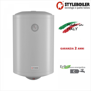 Scaldabagno Elettrico Accumulo Styleboiler Serie Vd 50 Litri Con 2 Anni Di Garanzia Made In Italy Classe Energetica C