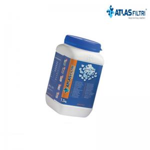 Ricarica Polifosfato In Cristalli Fini (taglio 6/10) In Barattolo Da 1,5 Kg Di Alta Qualità, Universale, Adatto A Tutti I Filtri