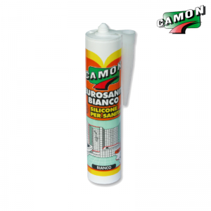 Silicone Camon Eurosanit Antimuffa Bianco