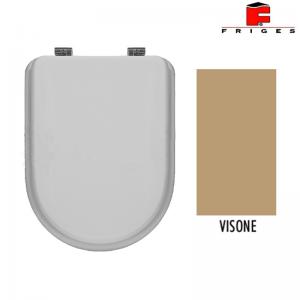 Sedile Wc Colato Colore Visone F/61 Bis Serie Rc 80 / Chiara / Vogue / Ok / Geo