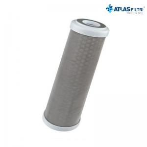 Cartuccia Filtro Atlas In Acciaio Inox 316 10 Pollici 70 Micron Ra 10 A Sx Per Contenitore Senior