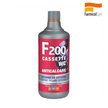 F200 ACIDO ANTICALCARE CASSETTE WC FAREN 1 L