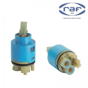 Cartuccia Raf X307 Con Distributore Ø40mm Con Anello O-ring Sul Corpo Distributore E Attacco Maniglia Quadro 10 X 10,5mm