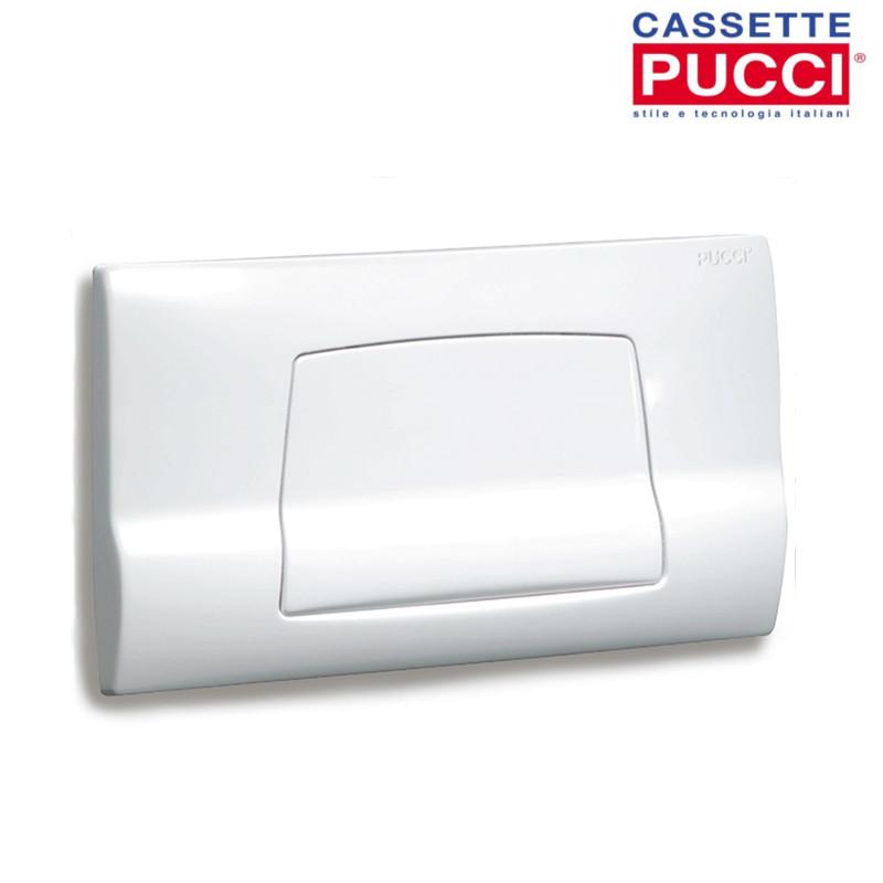 Accessori Bagno Pucci : Placca pucci sara bianca monotasto