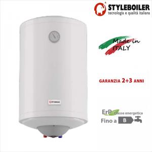 Scaldabagno Elettrico Accumulo Styleboiler Serie Vf-se 80 Litri Con 5 Anni Di Garanzia Con Selettore Esterno Della Temperatura