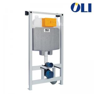 Cassetta Incasso Oli74 Plus Sanitarblock Con Azionamento Meccanico E Scarico Due Quantità Spessore 120 Mm Per Installazione Di V