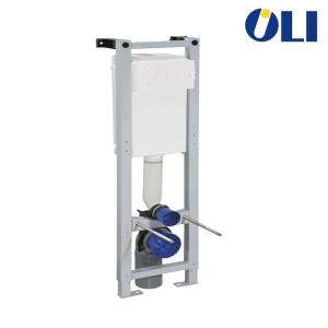 Cassetta Incasso Oli Quadra Sanitarblock Con Azionamento Meccanico E Scarico Due Quantità Spessore 190 Mm Per Installazione Di V