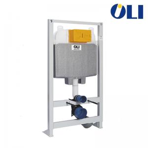 Cassetta Incasso Oli74 Plus Sanitarblock Autoportante Con Azionamento Meccanico E Scarico Due Quantità Spessore 120 Mm Per Insta
