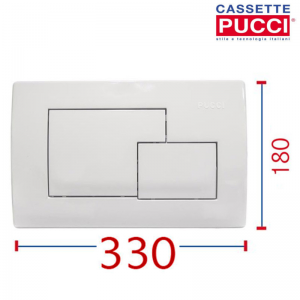 PLACCA PUCCI ECO QUADRA BIANCA 80005410