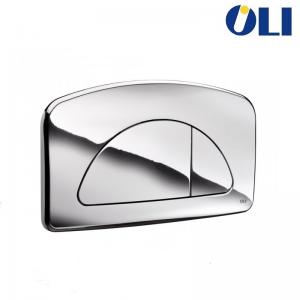 Placca Di Comando 2 Tasti Bianca Per Cassetta Diamante E Giada Cromo Lucido Originale Oliver 627004