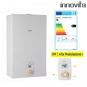 Scaldabagno Innovita Amalfi Eco 14 L Rs I Hm (alta Modulazione) Gpl O Gas Metano A Camera Stagna