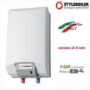 Scaldabagno Elettrico Accumulo Styleboiler 15l Con 5 Anni Di Garanzia Made In Italy Classe Energetica C