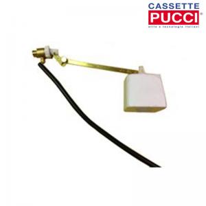 Galleggiante Cassetta Incasso Pucci Attacco Laterale, Valvola Completa E Astina Piatta Art. 80009151. Ricambio Originale