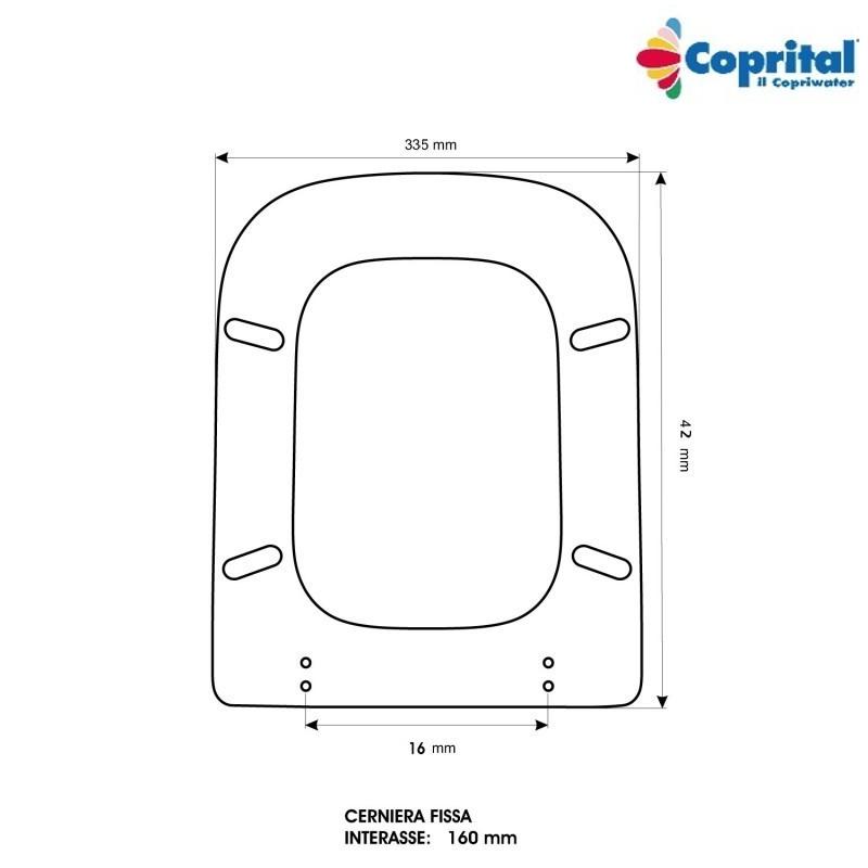 Sedile Wc Ideal Standard Conca Legno Pesante Colato Visone
